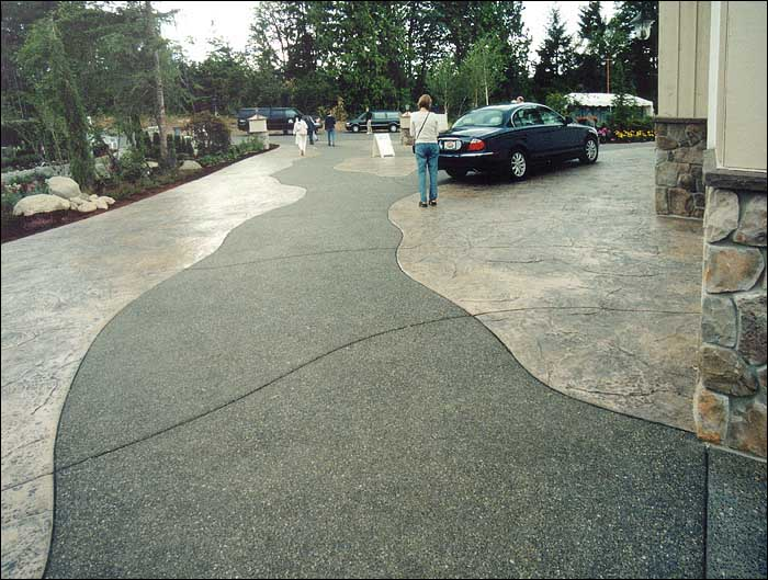 Stamped Concrete Path Contractor Tacoma WA