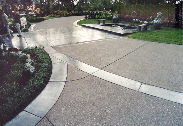 DecoratIve Concrete Paths Tacoma WA