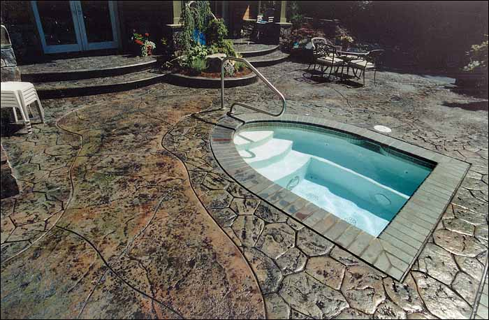 Concrete Pool Deck Sammamish WA